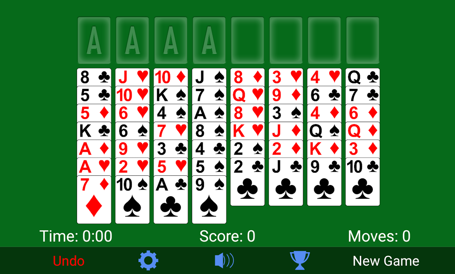freecell card