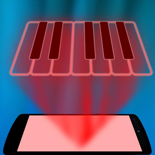 模拟のピアノホログラムいたずら LOGO-記事Game