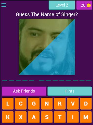 Guess The Pakistani Singers - Quiz Game 2020 7.4.3z screenshots 3