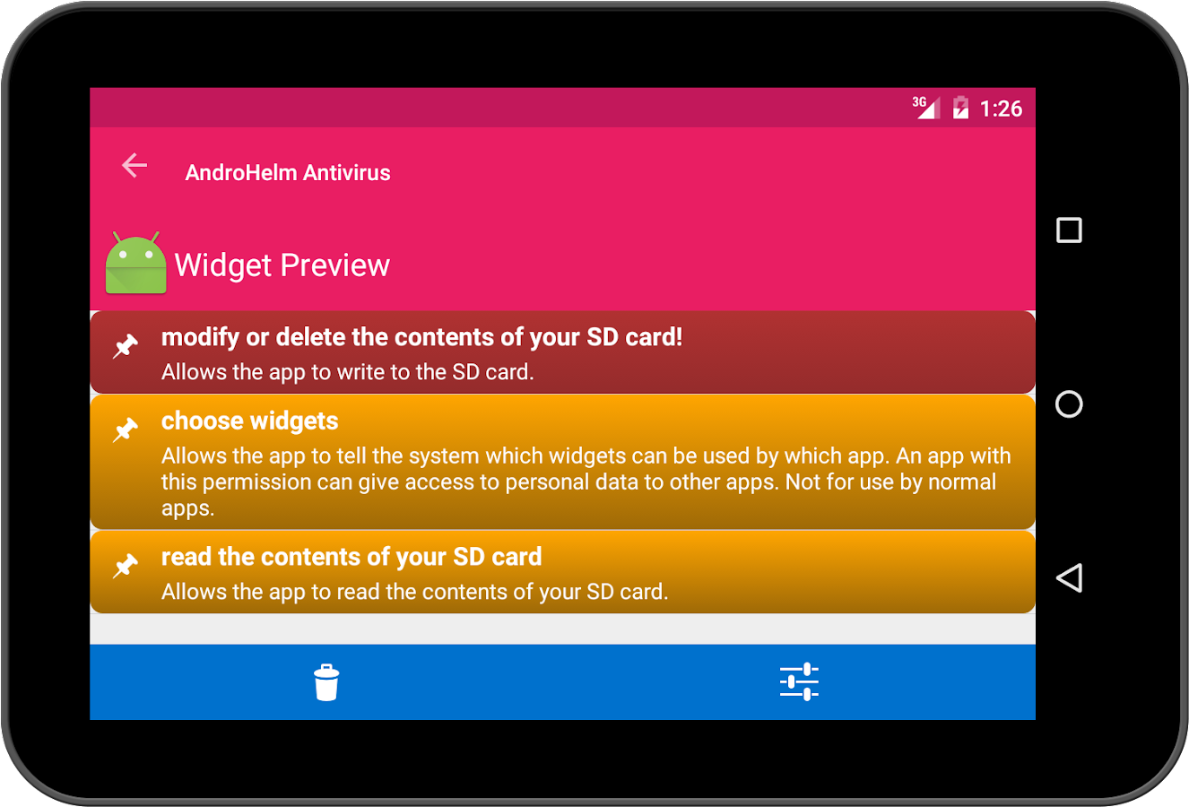 Antivirus android for tablet android apps on google play for App tablet android gratis
