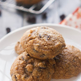 Paleo Pumpkin Cookies with Chocolate Chips.