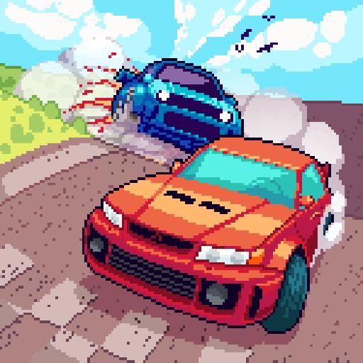 Pixel Drifters: Nitro Icon