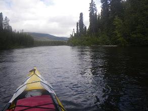 Photo: Auf dem Verbindungsarm zwischen Quiet Lake und Sandy Lake