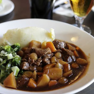 Pressure Cooker Recipe for Beef and Guinness Stew.