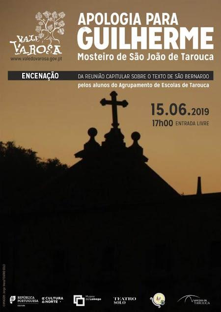 """""""Apologia para Guilherme"""" regressa ao Mosteiro de São João de Tarouca"""