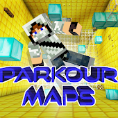 Parkour Maps For Minecraft PE Android APK Download Free By Huong Nguyen