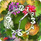Flower Parade Clock widget icon