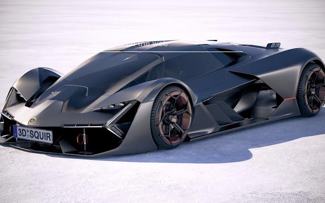 Lamborghini Terzo Millennio Wallpaper Theme
