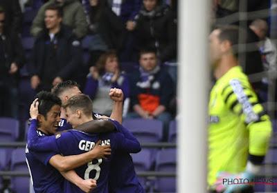 Anderlecht prend sa revanche et s'impose face à une décevante équipe de Charleroi