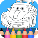 Cars Coloring Pages for Kids icon