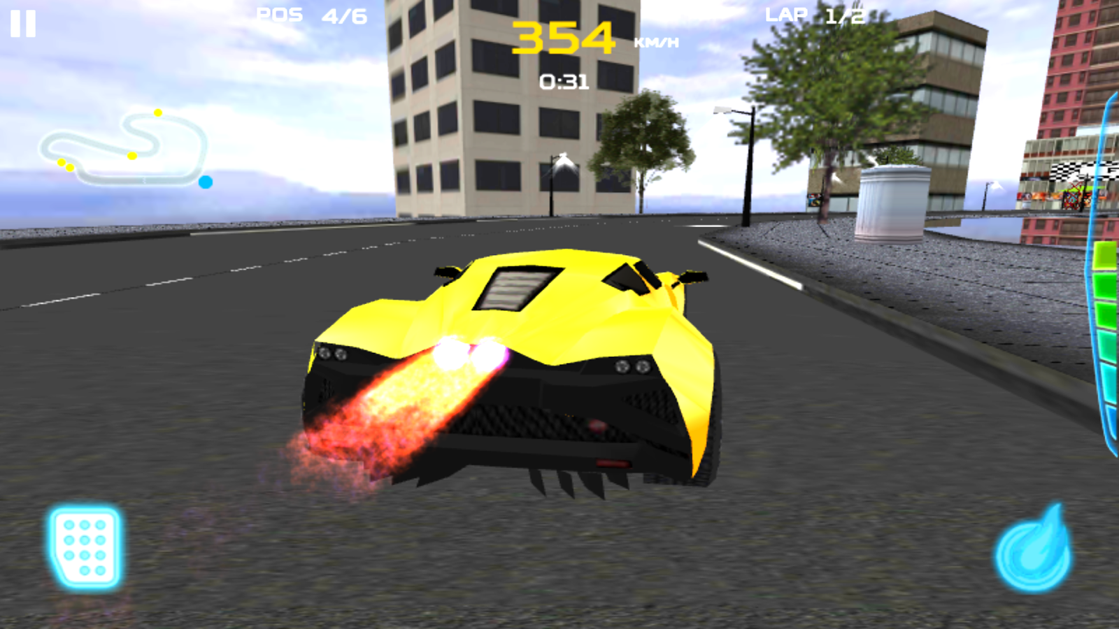 Fast Car Racing 3D- screenshot