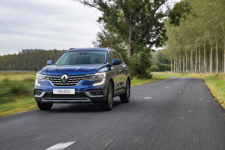 The Renault Koleos has one of the longest wheelbases in the class (4,670mm).