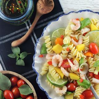 Thai-Lime Pasta Salad with Shrimp
