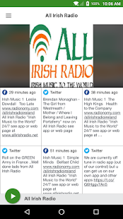 All Irish Radio- screenshot thumbnail