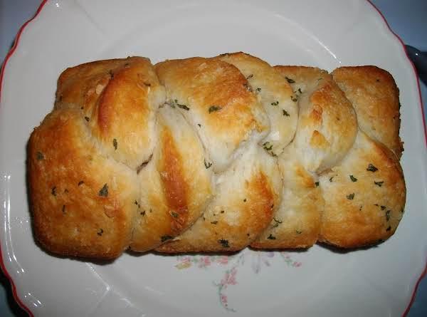 Buttery-golden-garlic Biscuits
