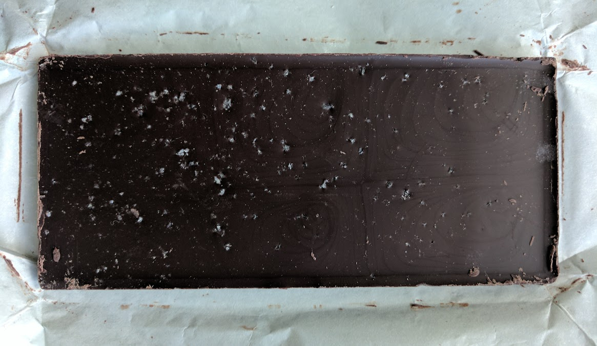 71% sea salt raaka bar open