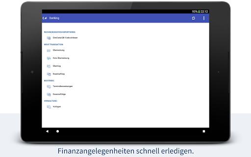 StarMoney - Banking + Kontenübersicht  screenshots 12