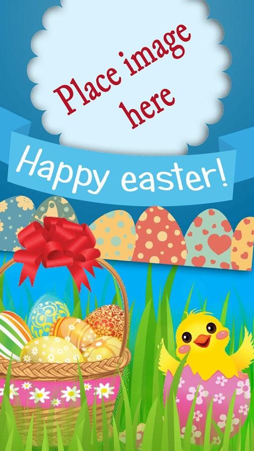 easter photo frames screenshot - Easter Picture Frames