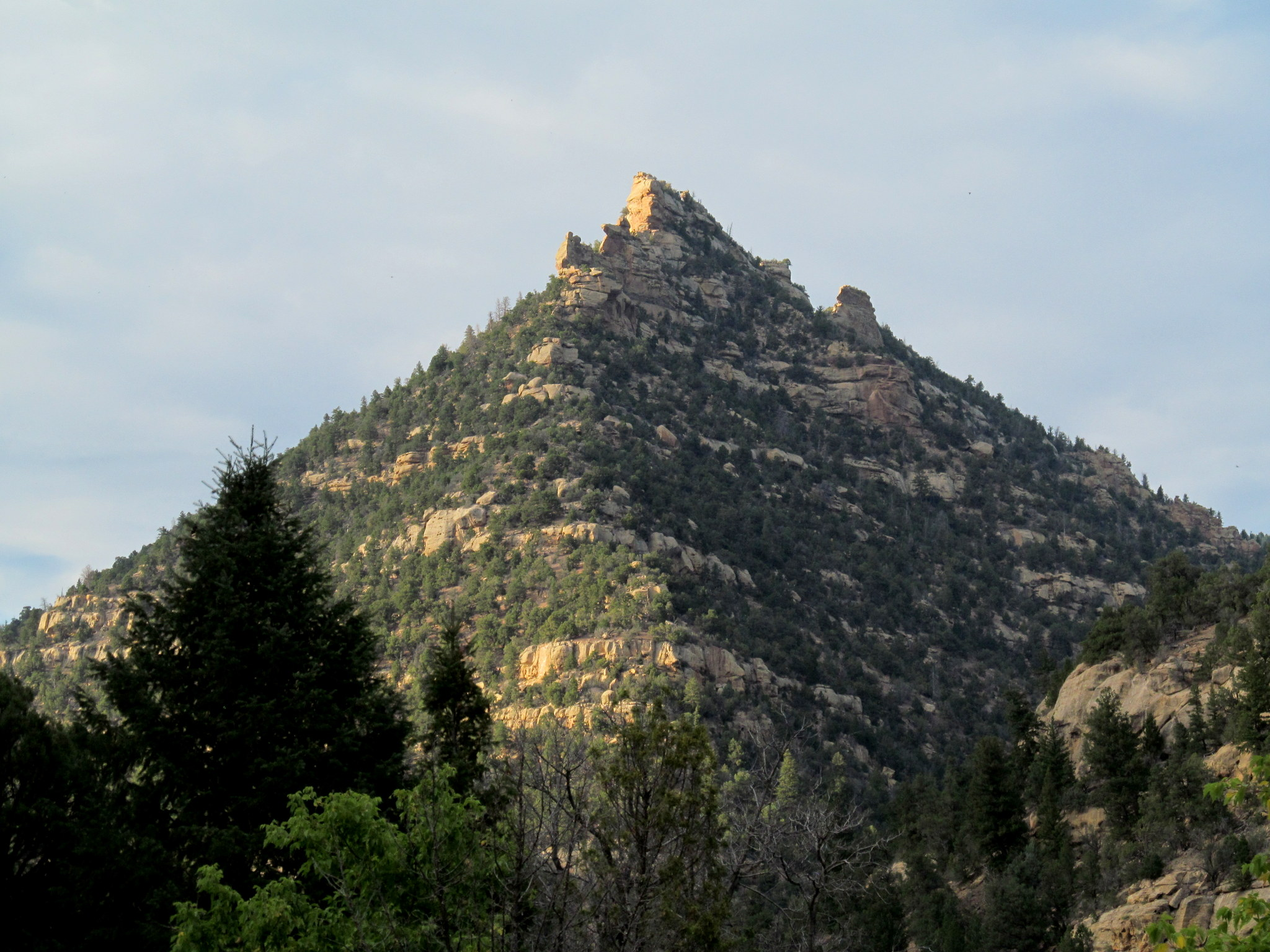 Photo: Ridge between Sheep and Gooseberry canyons