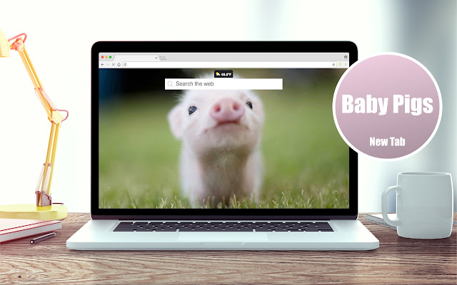 *NEW* HD Baby Pigs Wallpapers New Tab