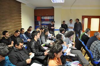 Antalya Şubesinde Sistematik Eğitimler Sürüyor