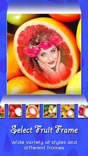Fruits Photo Frame - náhled