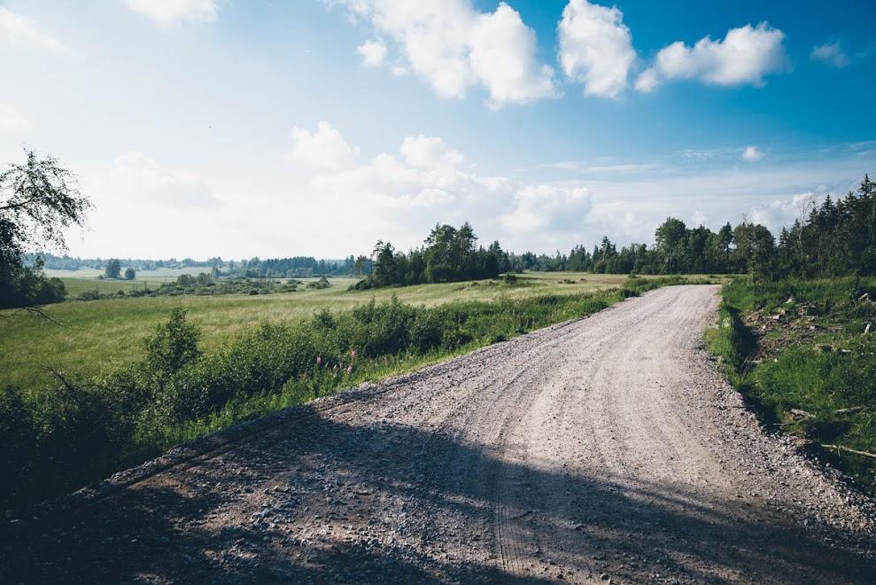 Карелия, дорога на Ястребиное