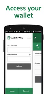 CoinSpace Wallet- screenshot thumbnail