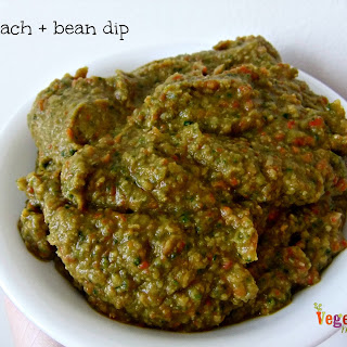 Spinach + Bean Dip – #glutenfree #vegan