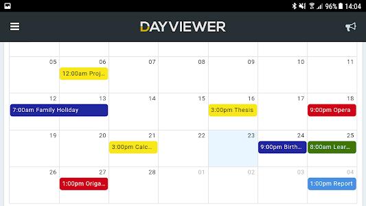 DayViewer - Calendar, Planner & Diary 1.0.7
