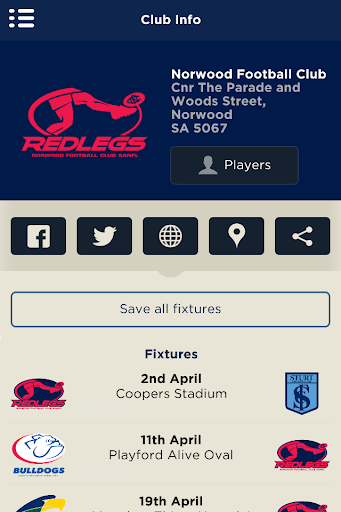The Official Norwood FC App