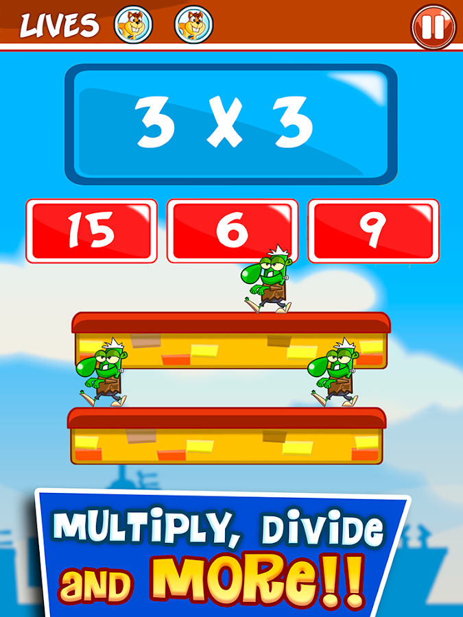 Monster Numbers: Math for kids- screenshot