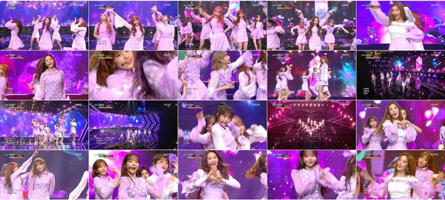190419 (1080p) IZONE Part – Music Bank