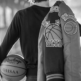 MVP by Bethany McGregor - Black & White Portraits & People ( dairyland, basketball, snohomish county, seniors, mvp,  )