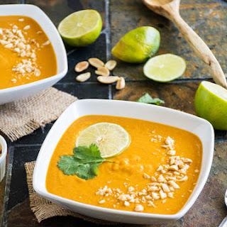 African Yam & Peanut Soup.