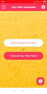 Download Vigo Video Downloader APK latest version App for PC