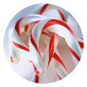 Candy Cane Pop Candy HD New Tabs Theme