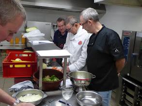 Photo: en de chef  zag dat het goed was ....