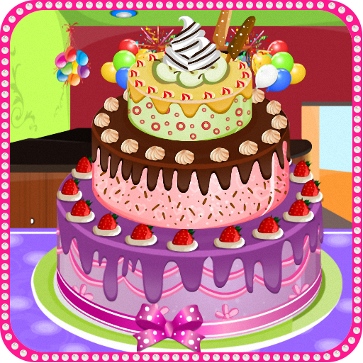 Delicious Cake Decoration Icon
