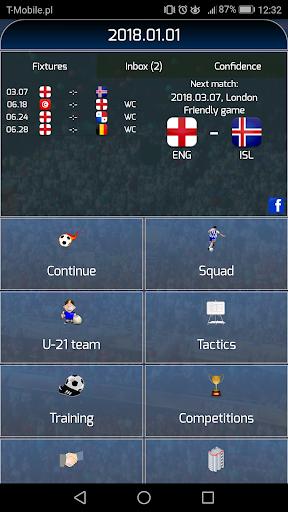 True Football National Manager 1.5.4 screenshots 1