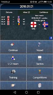 True Football National Manager 1.5.4 MOD Apk Download 1