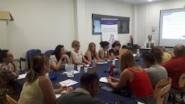 Participantes durante una de las sesiones del taller.