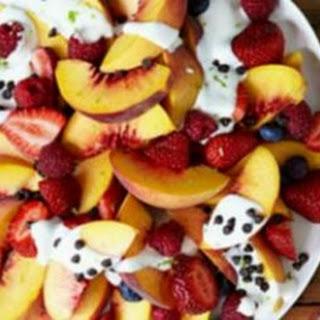 Fruit Nachos by Terra'S Kitchen Recipe