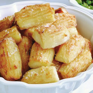 Crispy Roasted Potatoes.