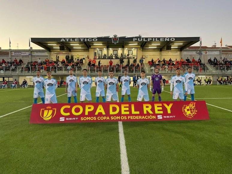 El once del CD Lugo.