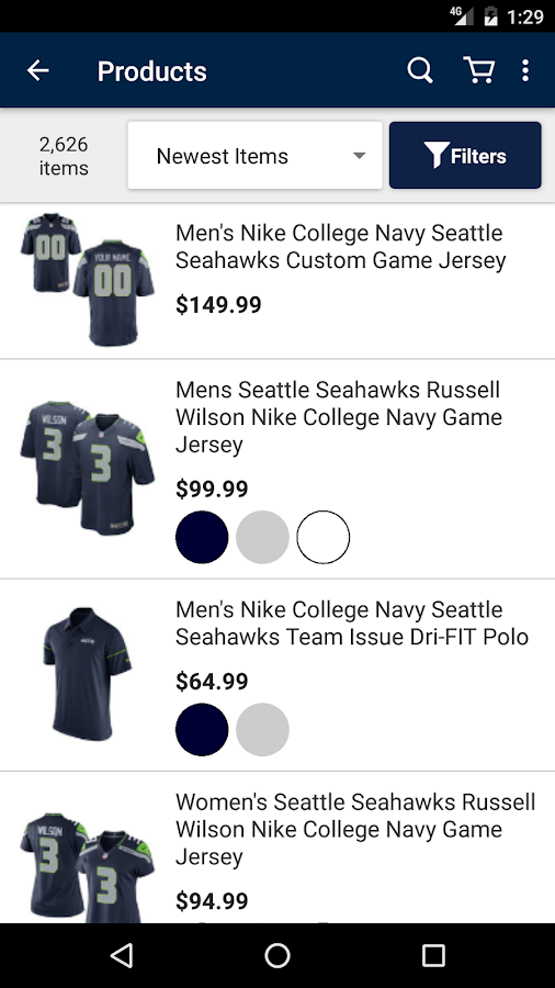 Seattle Seahawks Mobile- screenshot