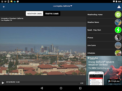 WeatherBug- screenshot thumbnail