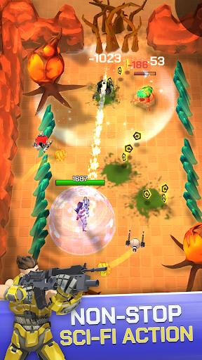 Spacelanders: 3D Sci-Fi Action RPG Shooter apklade screenshots 2