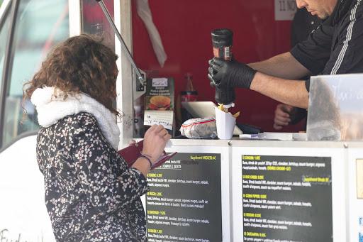 Service depuis le Food Truck