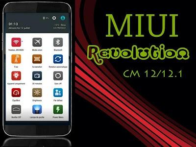 CM12 Theme - MIUI Revolution v1.0.6